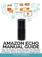 Amazon Echo Manual Guide