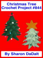 Christmas Tree Crochet Project #844