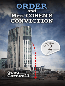 Order and Mrs Cohen's Conviction