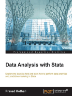 Data Analysis with Stata