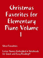 Christmas Favorites for Elementary Piano Volume 1