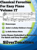 Classical Favorites for Easy Piano Volume 1 T