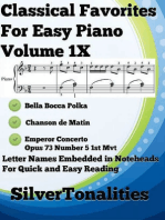 Classical Favorites for Easy Piano Volume 1 X