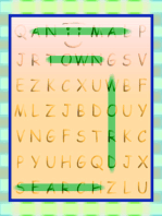 Aniimal Town Word Search