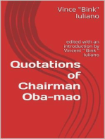 Quotations of Chairman Oba-mao
