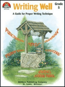 Writing Well Grade 5: A Guide for Proper Writing Technique