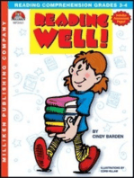Reading Well - Grades 3-4