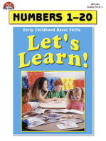 Let's Learn! Numbers 1-20