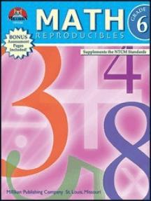 Math Reproducibles - Grade 6