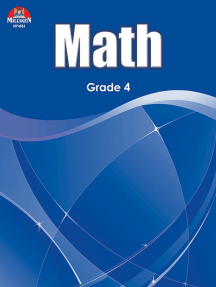 Math Workbook - Grade 4
