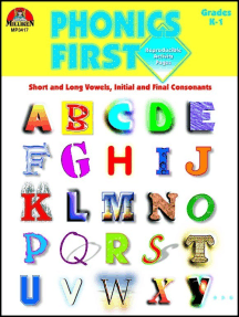 Phonics First - Grades K-1