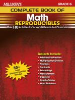 Milliken's Complete Book of Math Reproducibles - Grade 6