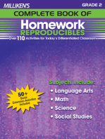 Milliken's Complete Book of Homework Reproducibles - Grade 2