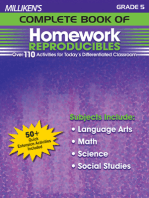 Milliken's Complete Book of Homework Reproducibles - Grade 5