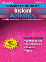 Milliken's Complete Book of Instant Activities - Grade 2