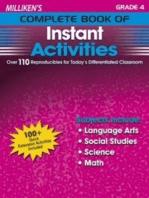Milliken's Complete Book of Instant Activities - Grade 4