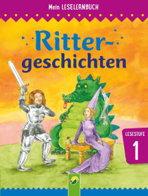 Rittergeschichten: Mein Leselernbuch: Lesestufe 1