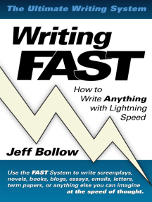 Writing FAST: How to Write Anything with Lightning Speed