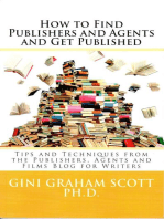 How to Find Publishers and Agents and Get Published