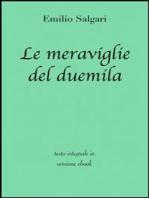 Le meraviglie del duemila di Emilio Salgari in ebook