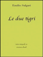 Le due tigri di Emilio Salgari in ebook