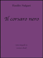 Il corsaro nero di Emilio Salgari in ebook