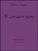 Il corsaro nero di Emilio Salgari in ebook