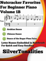 Nutcracker Favorites for Beginner Piano Volume 1 B