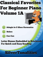 Classical Favorites for Beginner Piano Volume 1 A