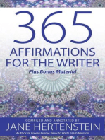 365 Affirmations for the Writer