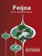 Manual para el cultivo de frutales en el trópico. Feijoa