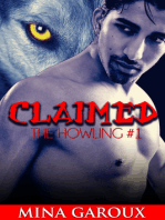 Claimed (M/M Wolf Shifter Romance) (The Howling Book 1)