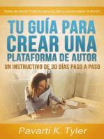 Tu guía para crear una plataforma de autor