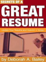 Secrets of a Great Resume