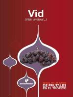 Manual para el cultivo de frutales en el trópico. Vid