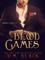Blood Games (Vampire's Choice Paranormal Romance, #4)