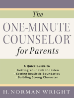 The One-Minute Counselor™ for Parents