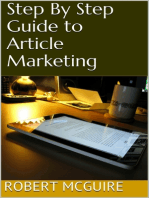 Step By Step Guide to Article Marketing