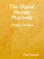 The Digital Signage Playbook - Ebook Version