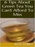 6 Tips About Green Tea You Can't Afford to Miss