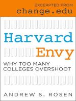 Harvard Envy