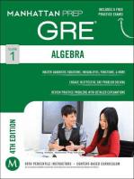 Algebra GRE Strategy Guide