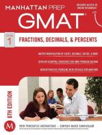 GMAT Fractions, Decimals, & Percents