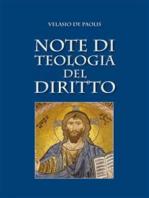 Note di teologia del diritto