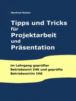 Tipps und Tricks für Projektarbeit und Präsentation