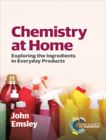 Chemistry at Home: Exploring the Ingredients in Everyday Products