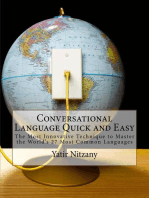 Conversational Language Quick and Easy