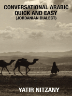 Conversational Arabic Quick and Easy: Jordanian Dialect