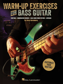Warm-Up Exercises for Bass Guitar