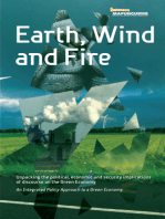 Earth, Wind and Fire: Unpacking the Political, Economic and Security Implications of Discourse on the Green Economy